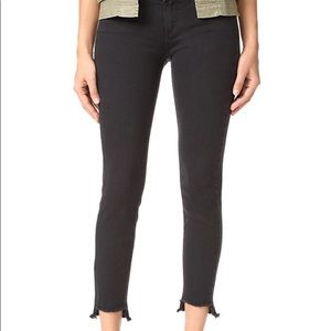 PAIGE Verdigo Jeans with Uneven Hem